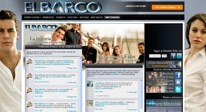 Portada Twwittersodios El Barco