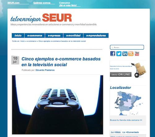 Eduardo Prádanos Televisión Social