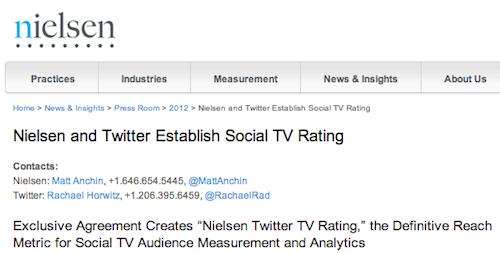 Nielsen Twitter