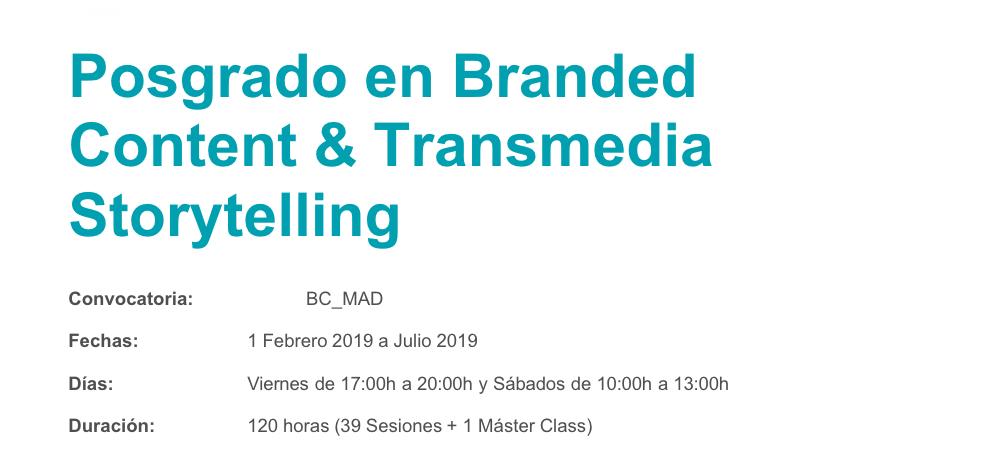 posgrado-branded-content-transmedia-storytelling-fluor-lifestyle-eduardo-pradanos